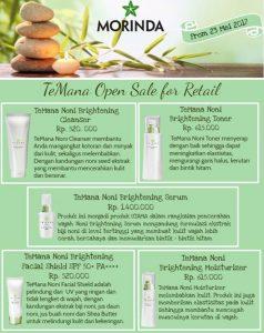 Temana Skin Care Morinda Indonesia